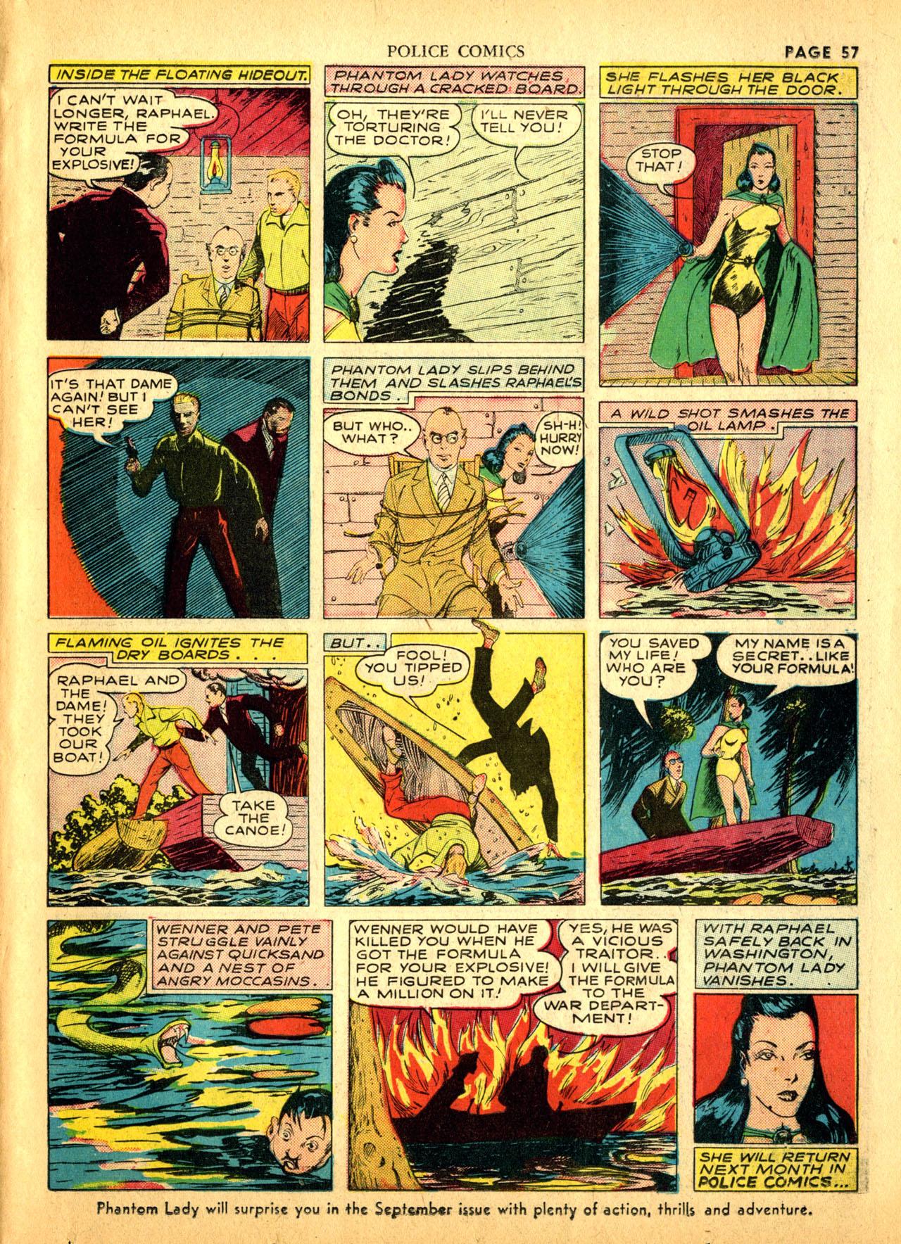 Police Comics #1 #127 - English 60