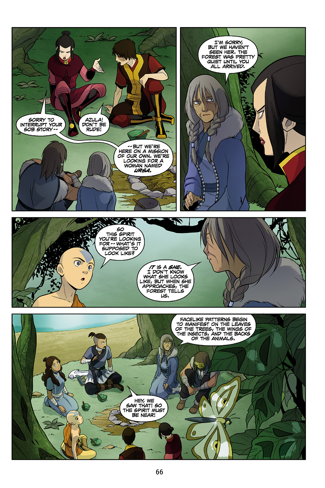 Read online Nickelodeon Avatar: The Last Airbender - The Search comic -  Issue # Part 2 - 67