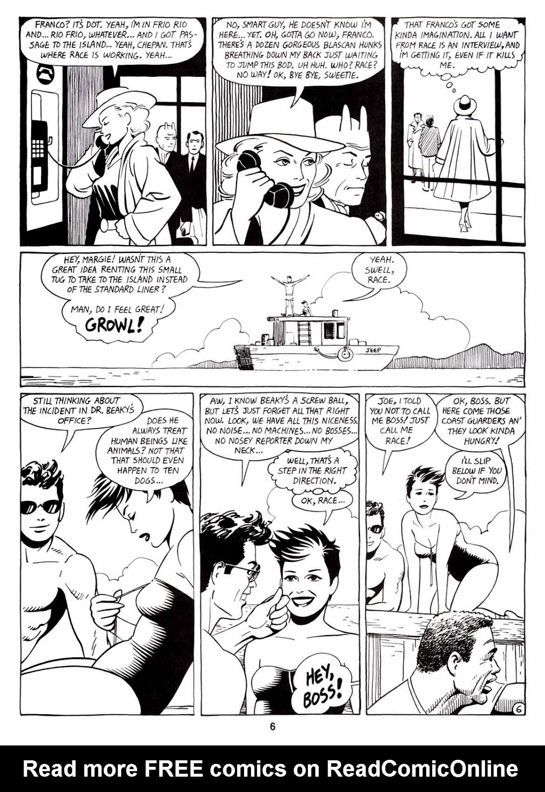 Love and Rockets (1982) Issue #7 #6 - English 8