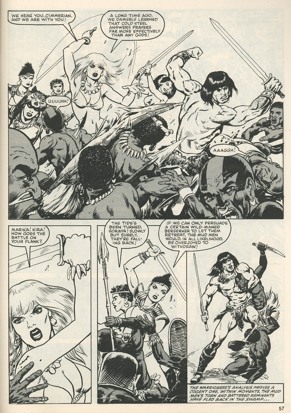 The Savage Sword Of Conan Issue #111 #112 - English 60
