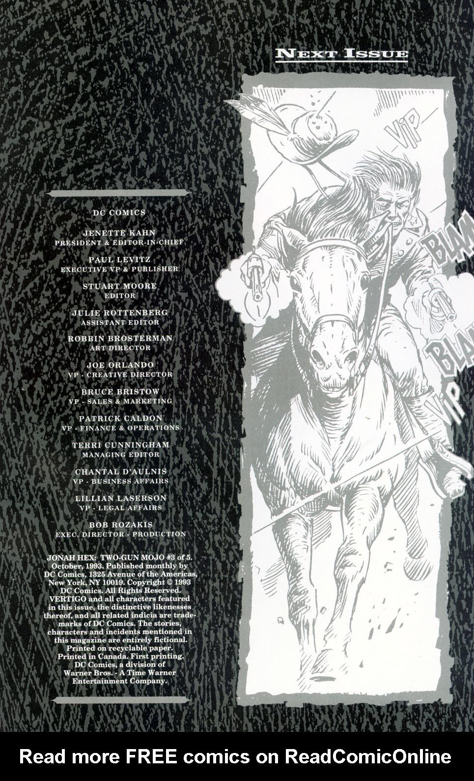 Jonah Hex: Two-Gun Mojo Issue #3 #3 - English 34