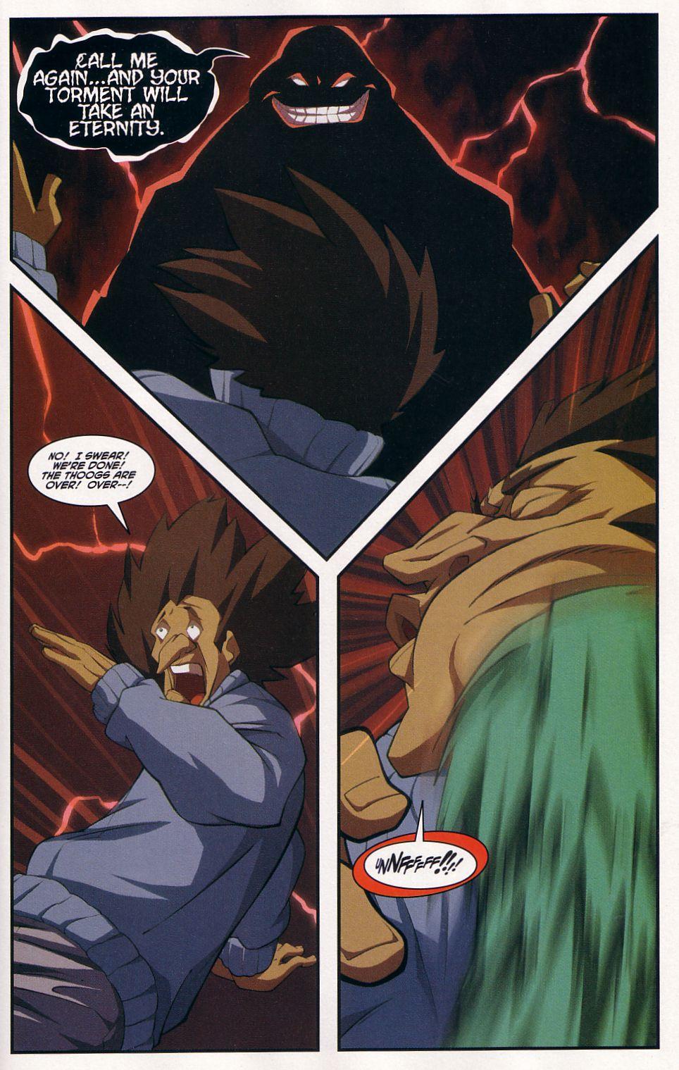 Teenage Mutant Ninja Turtles (2003) chap 7 pic 23