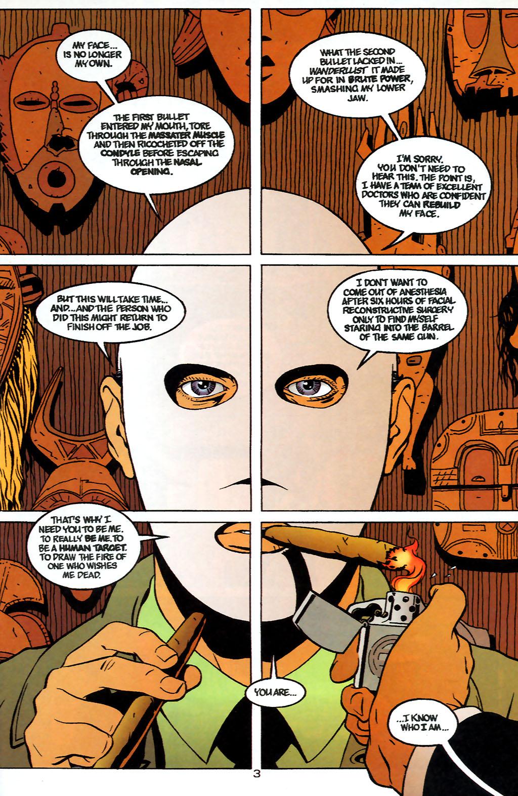 Human Target (1999) 1 Page 3
