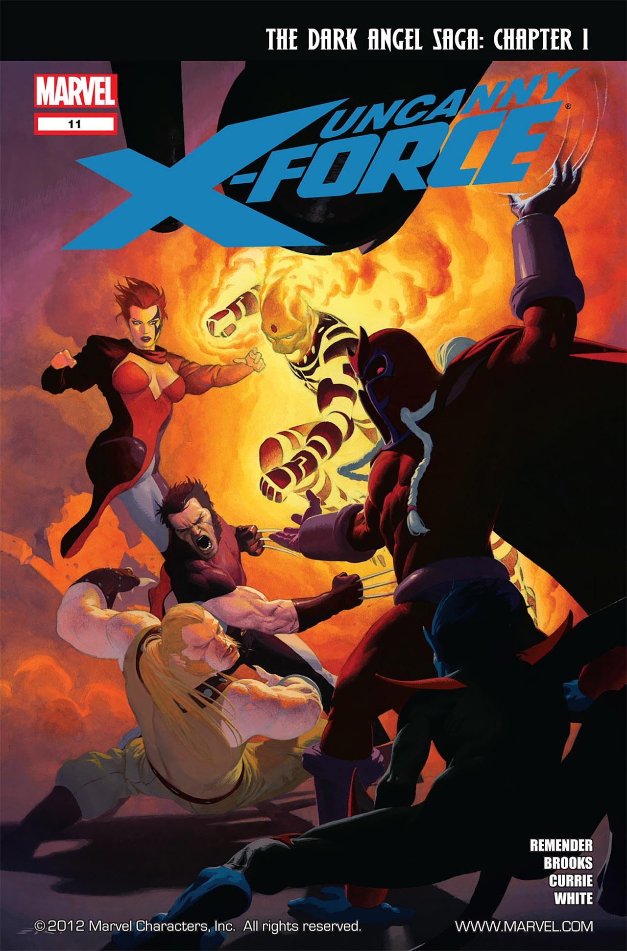 Uncanny X-Force (2010) #11 #26 - English 1