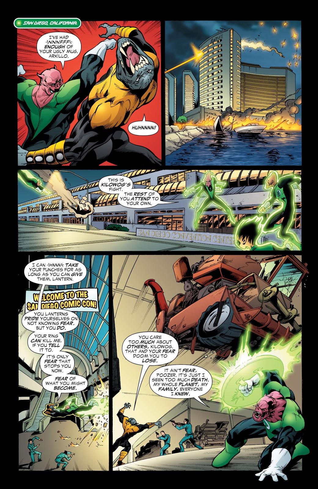Green Lantern: The Sinestro Corps War Full #1 - English 210