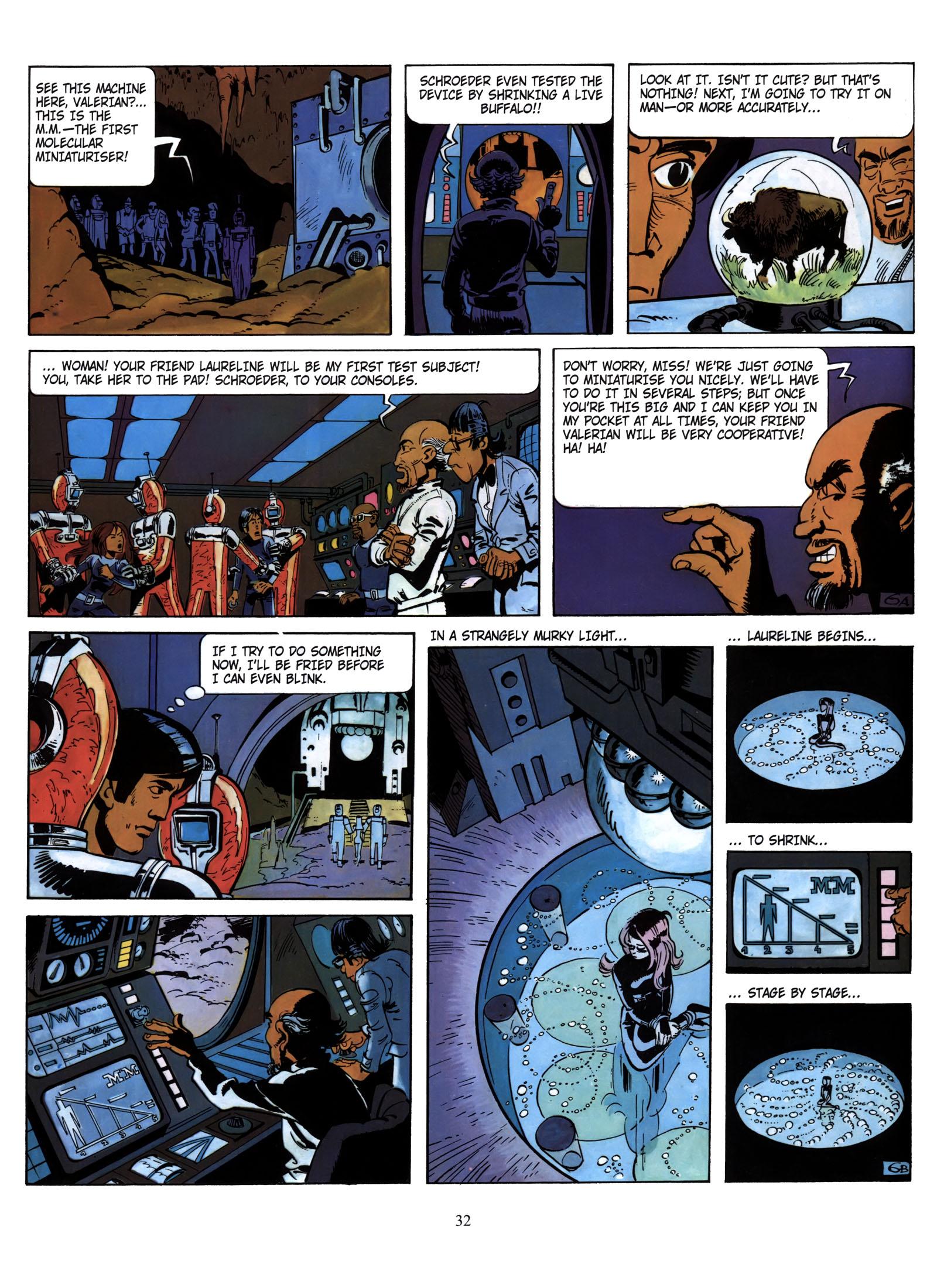 Valerian and Laureline #1 #23 - English 33