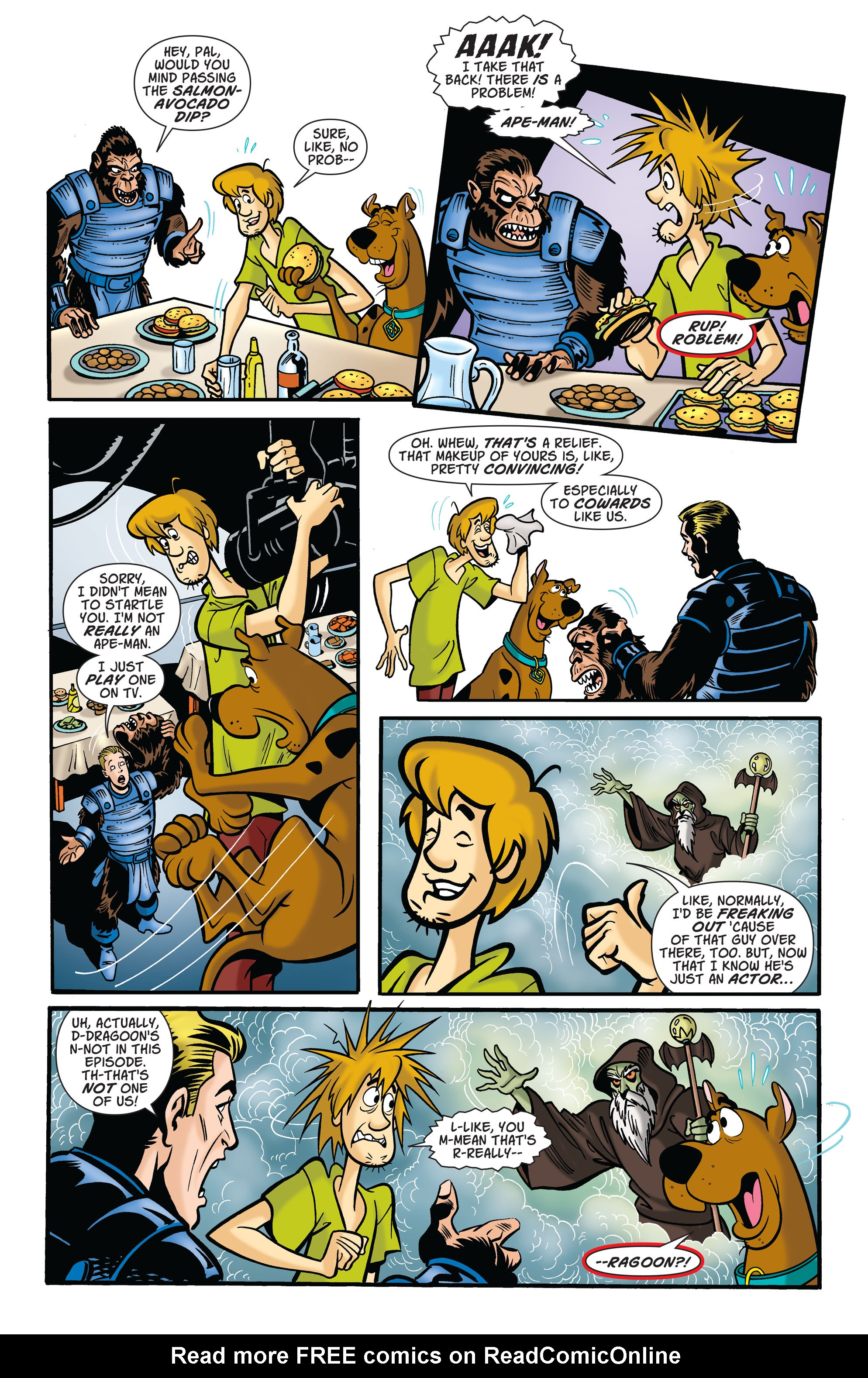 Read online Scooby-Doo: Where Are You? comic -  Issue #75 - 5