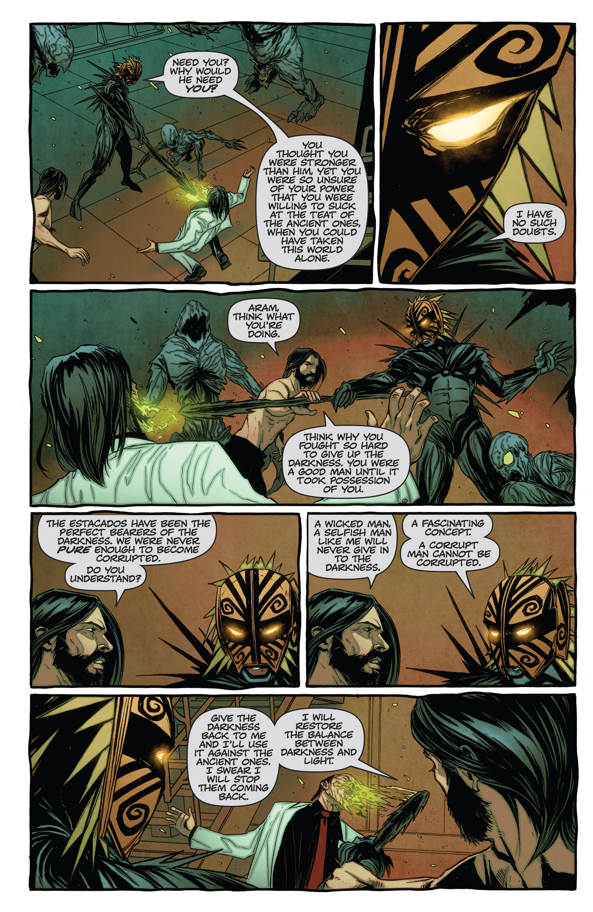 Read online The Darkness (2007) comic -  Issue #115 - 9