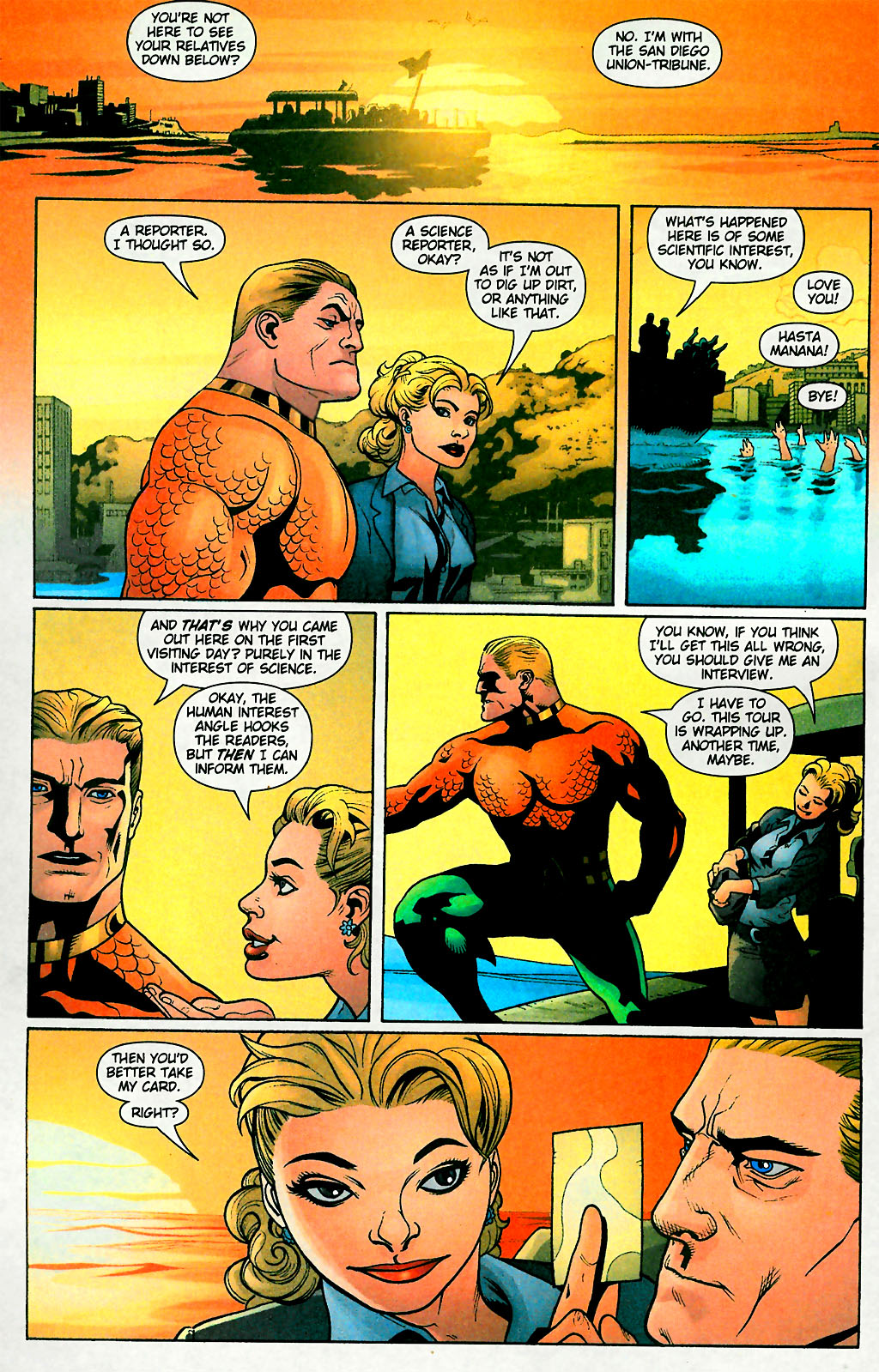 Aquaman (2003) Issue #28 #28 - English 10
