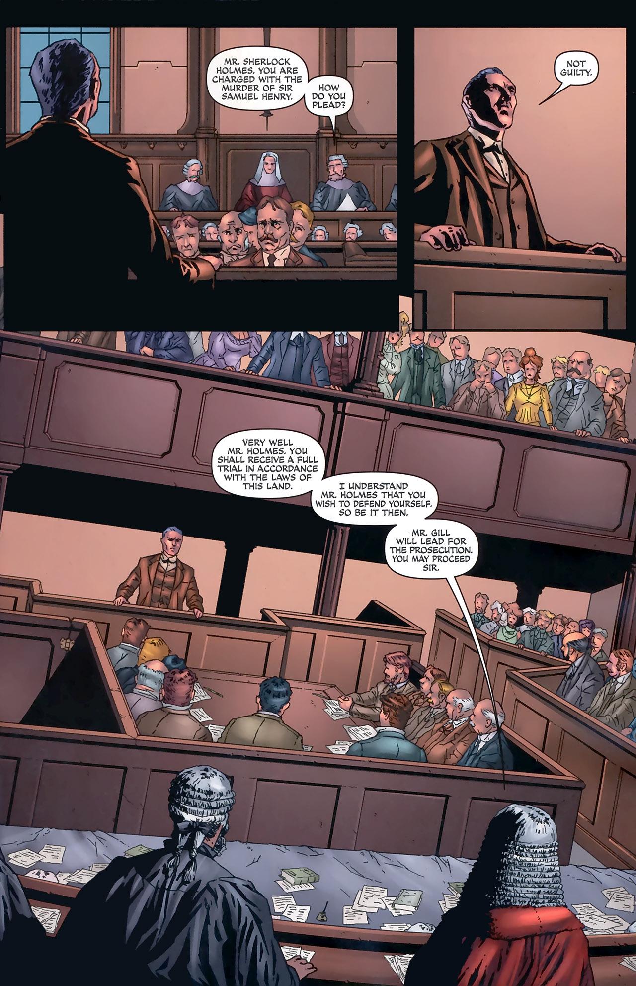 Read online Sherlock Holmes (2009) comic -  Issue #5 - 5