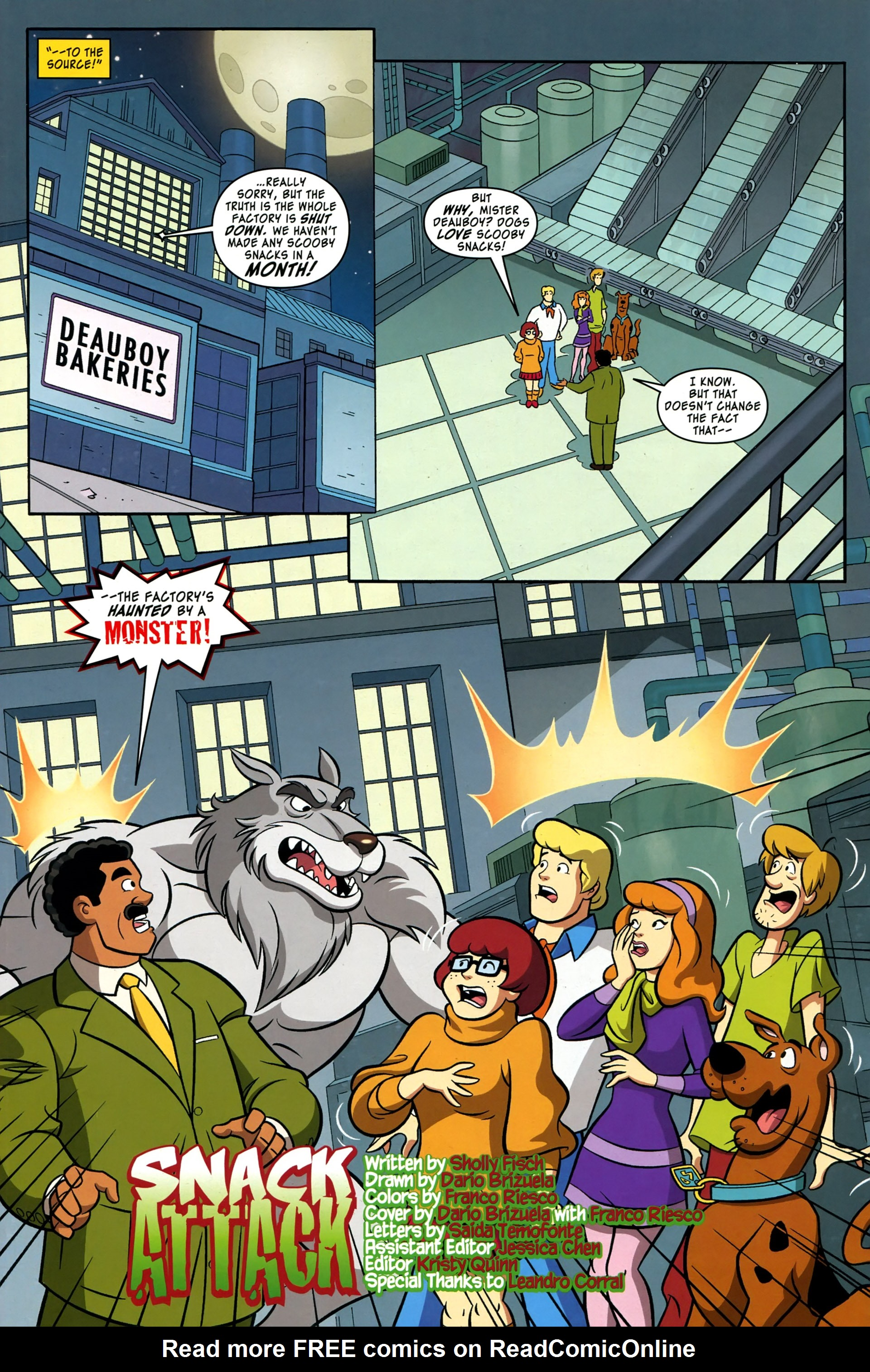 Read online Scooby-Doo: Where Are You? comic -  Issue #37 - 4