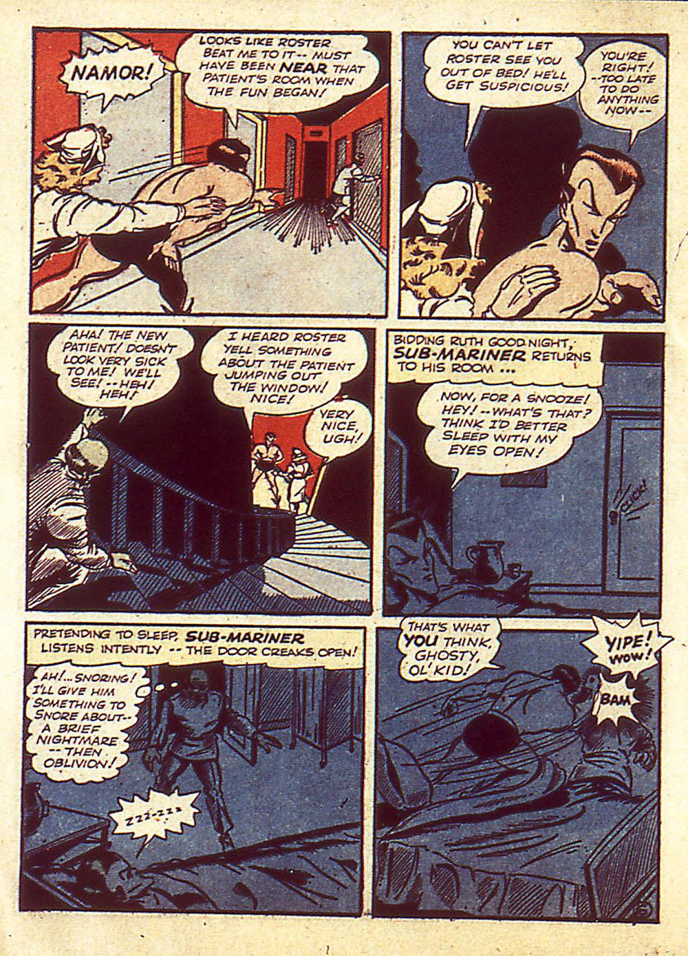 Sub-Mariner Comics Issue #4 #4 - English 9
