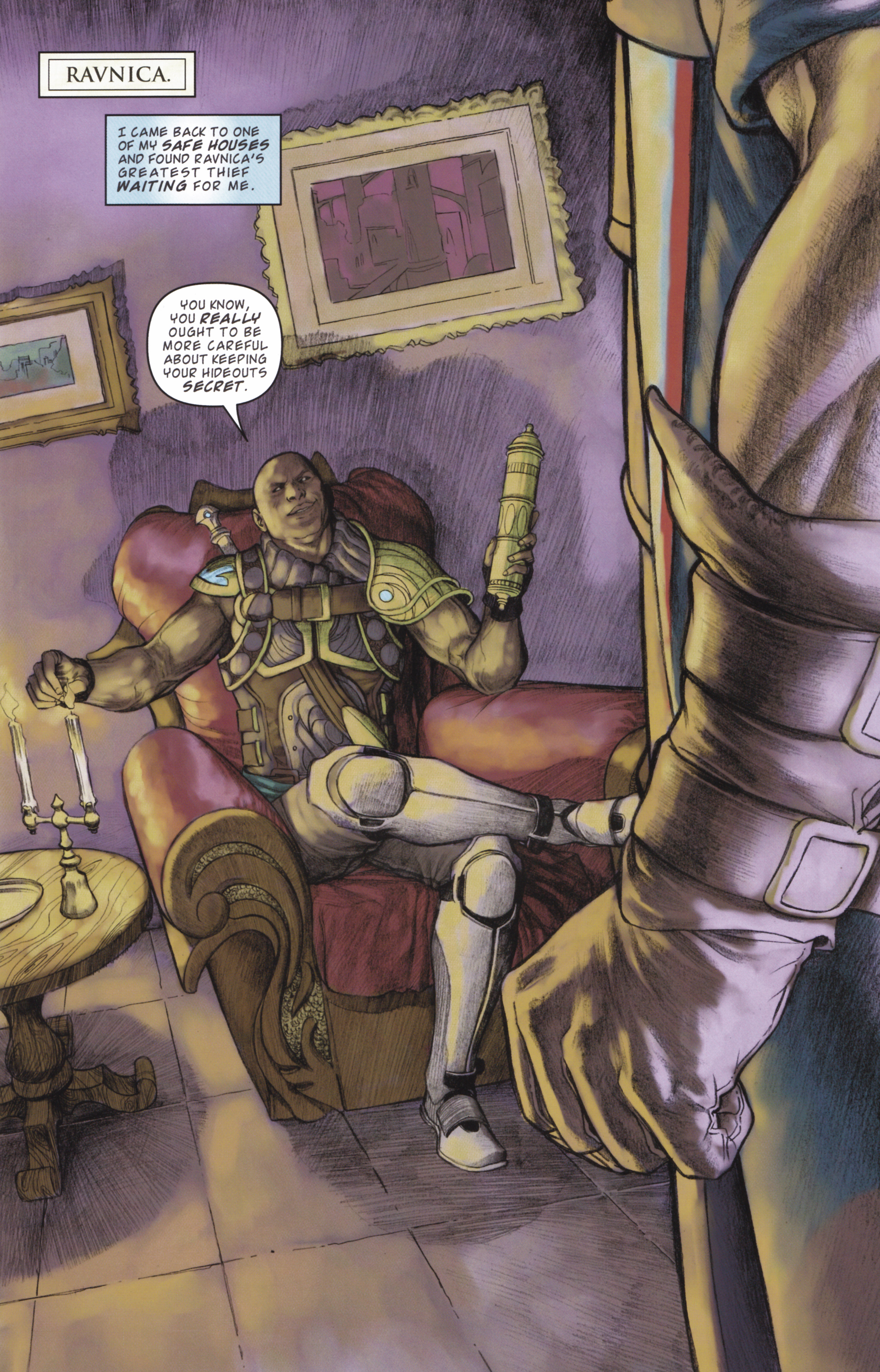 Read online Magic: The Gathering--Path of Vengeance comic -  Issue #2 - 3