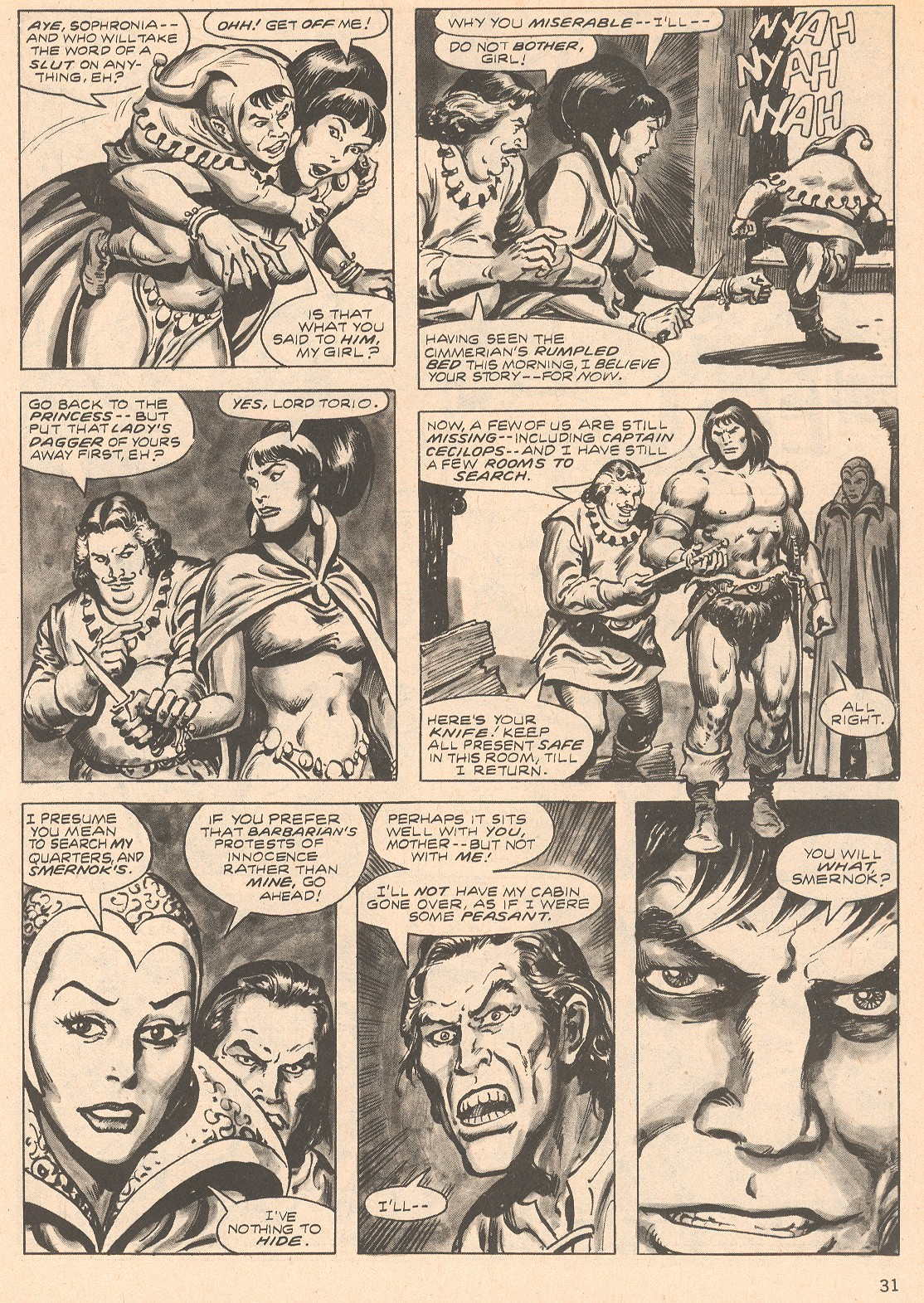 The Savage Sword Of Conan Issue #66 #67 - English 31