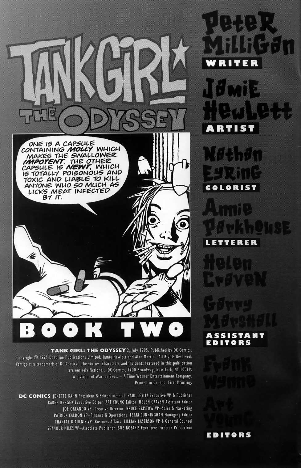 Tank Girl: The Odyssey 2 Page 2