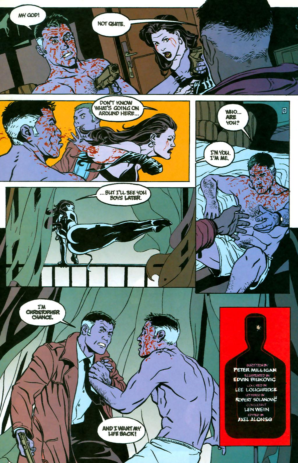 Human Target (1999) 1 Page 24