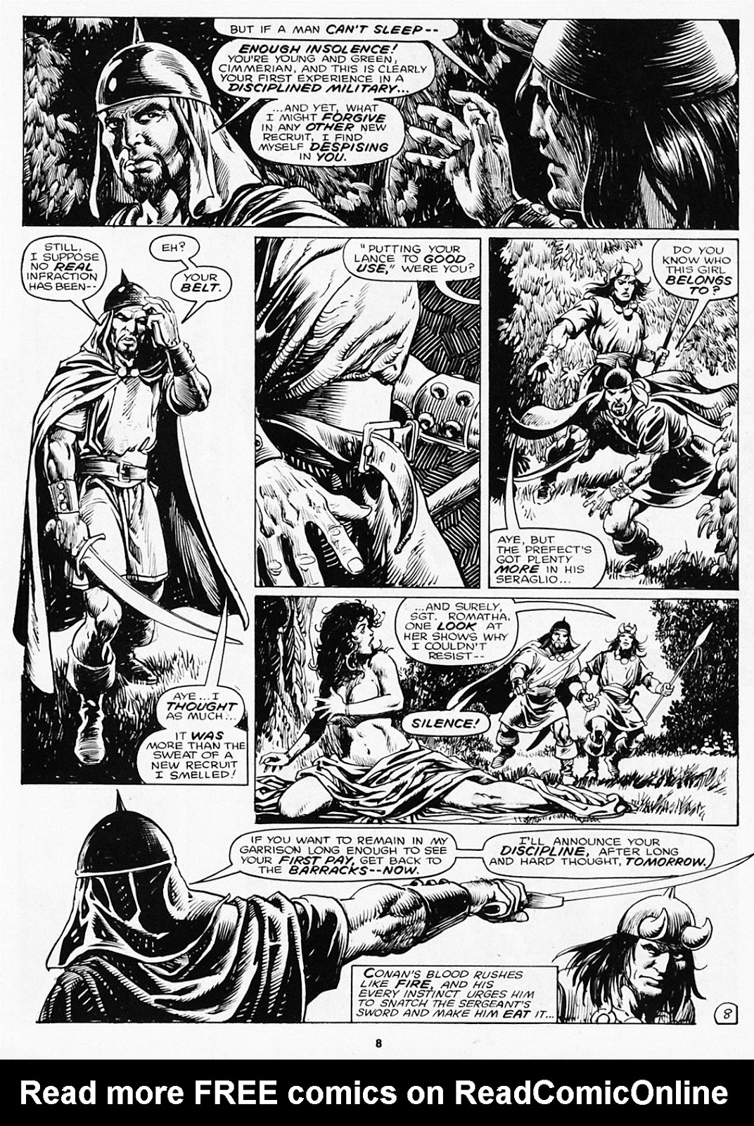 The Savage Sword Of Conan Issue #180 #181 - English 10