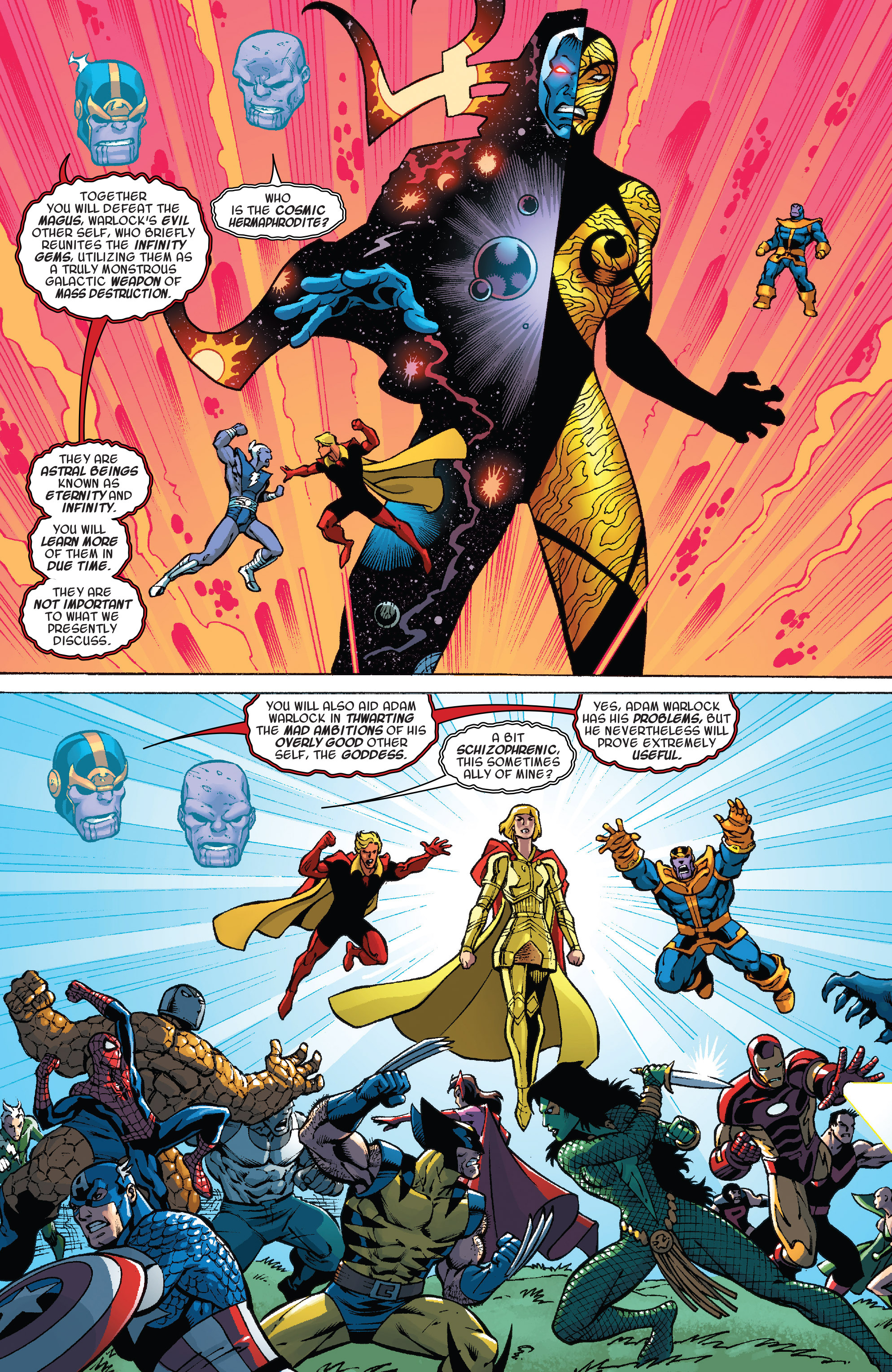 Read online Thanos Annual comic -  Issue # Annual - 22