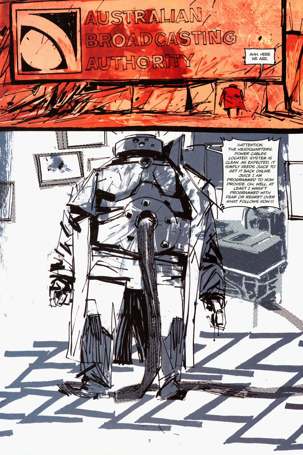 Zombies vs. Robots (2006) Issue #1 Page 9