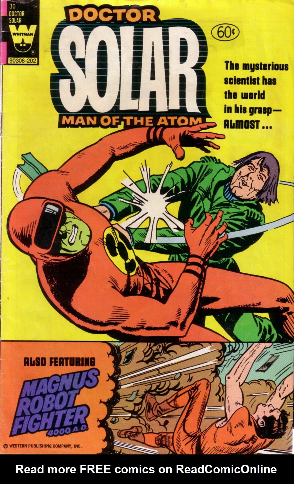 Doctor Solar, Man of the Atom (1962) 30 Page 1
