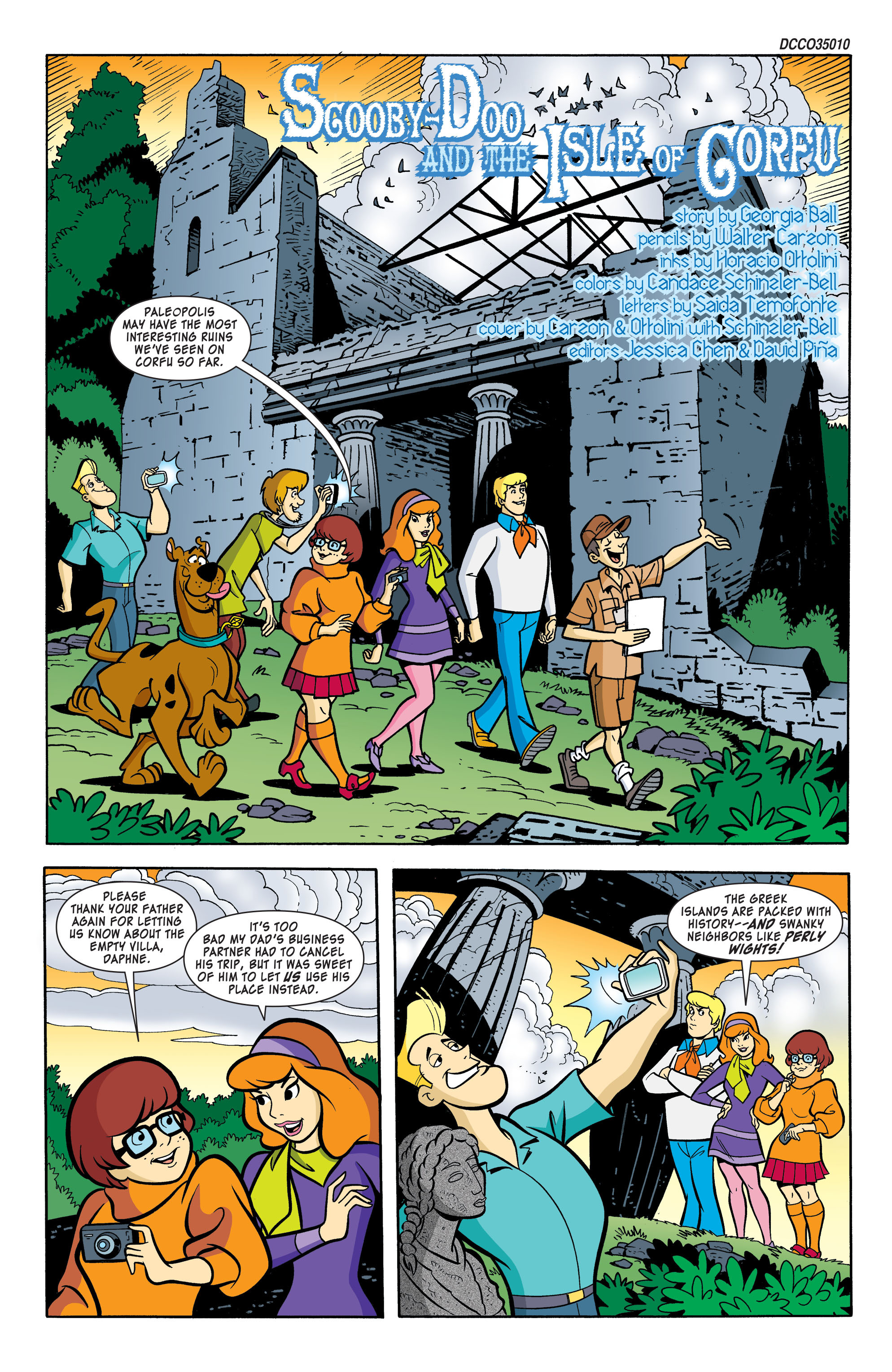 Read online Scooby-Doo: Where Are You? comic -  Issue #59 - 2