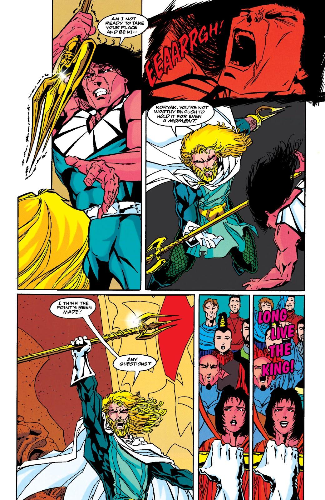 Aquaman (1994) Issue #49 #55 - English 21