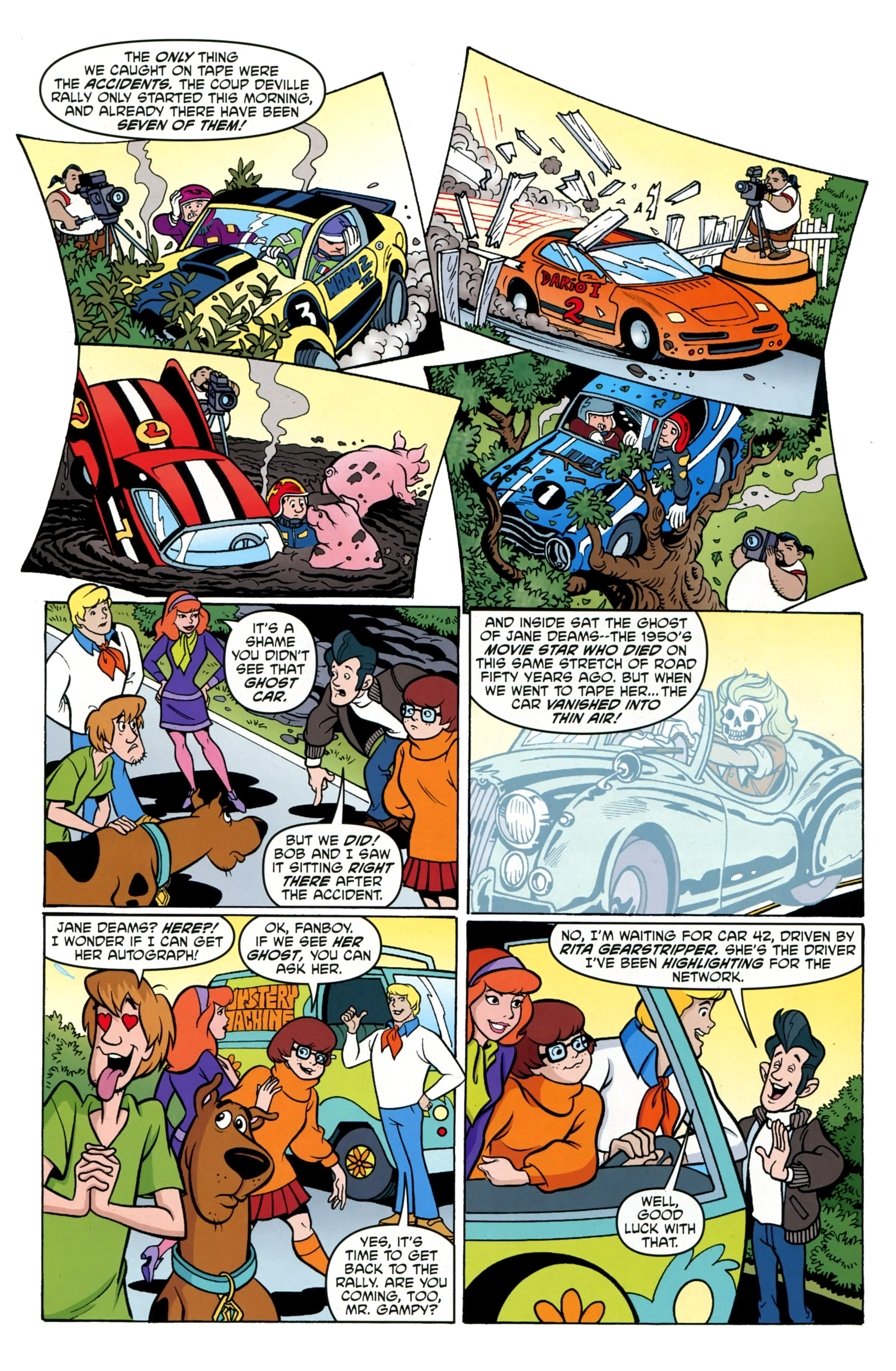 Read online Scooby-Doo: Where Are You? comic -  Issue #36 - 21