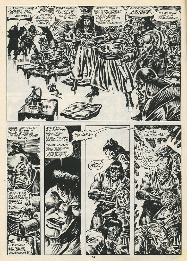 The Savage Sword Of Conan Issue #192 #193 - English 44