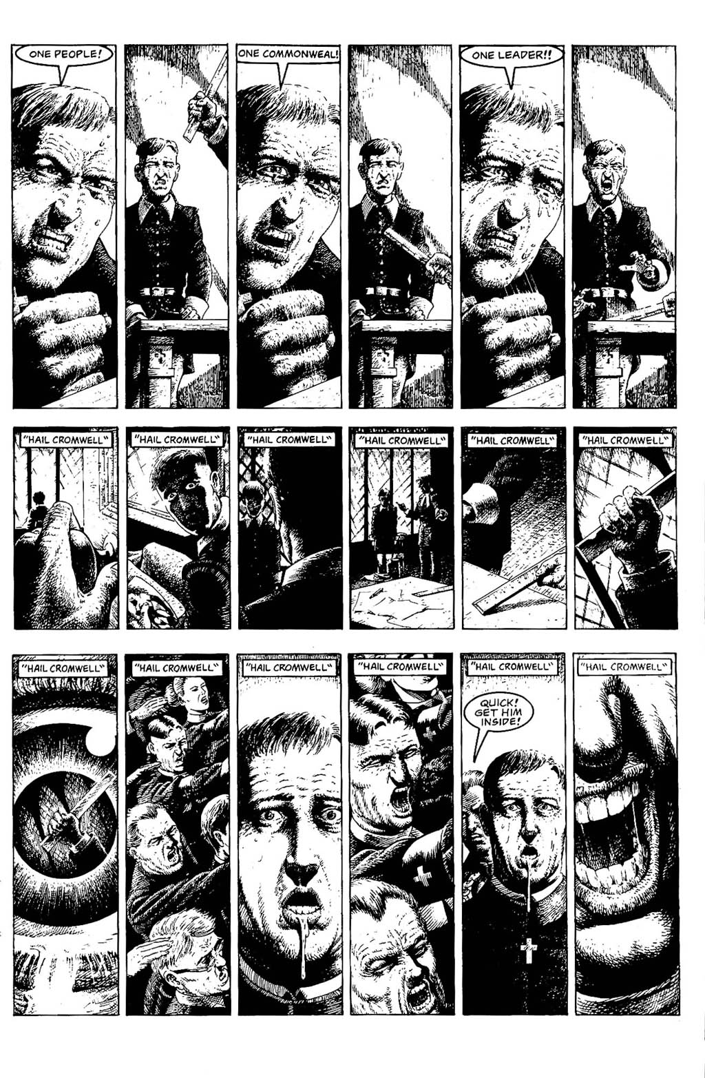 Read online The Adventures of Luther Arkwright comic -  Issue #5 - 19