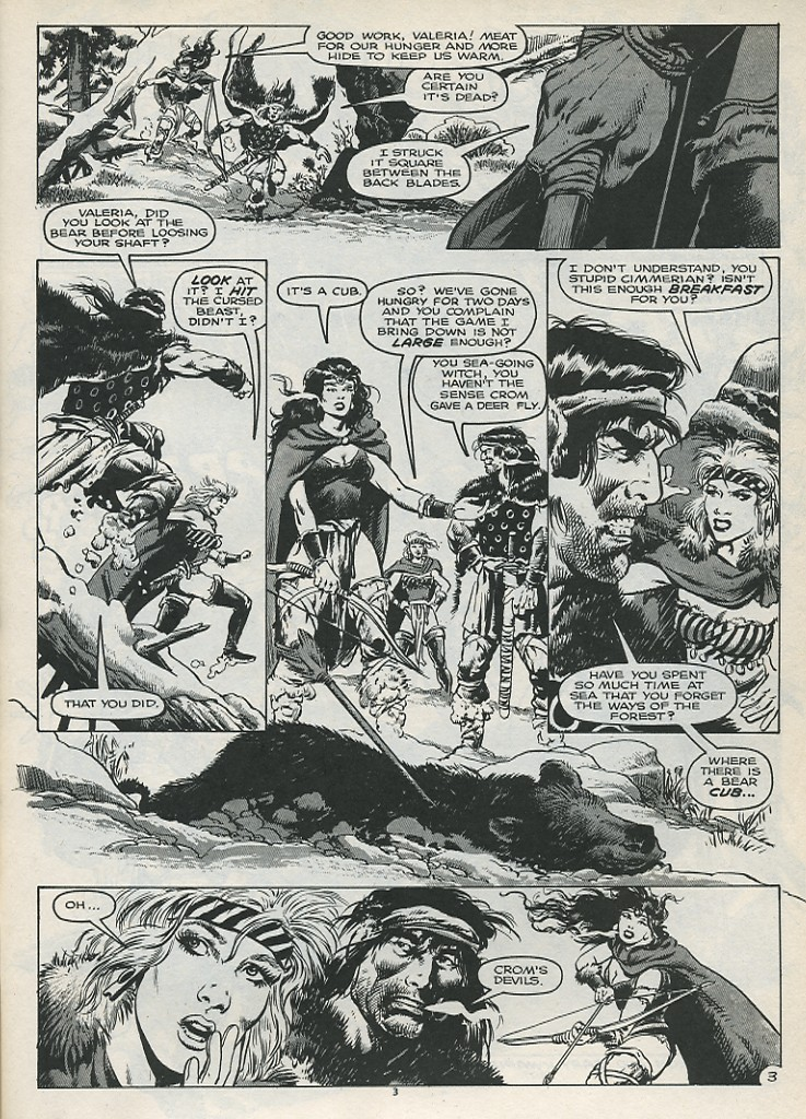 The Savage Sword Of Conan Issue #179 #180 - English 5