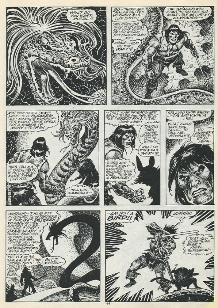 The Savage Sword Of Conan Issue #193 #194 - English 46