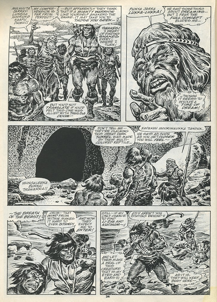 The Savage Sword Of Conan Issue #193 #194 - English 36