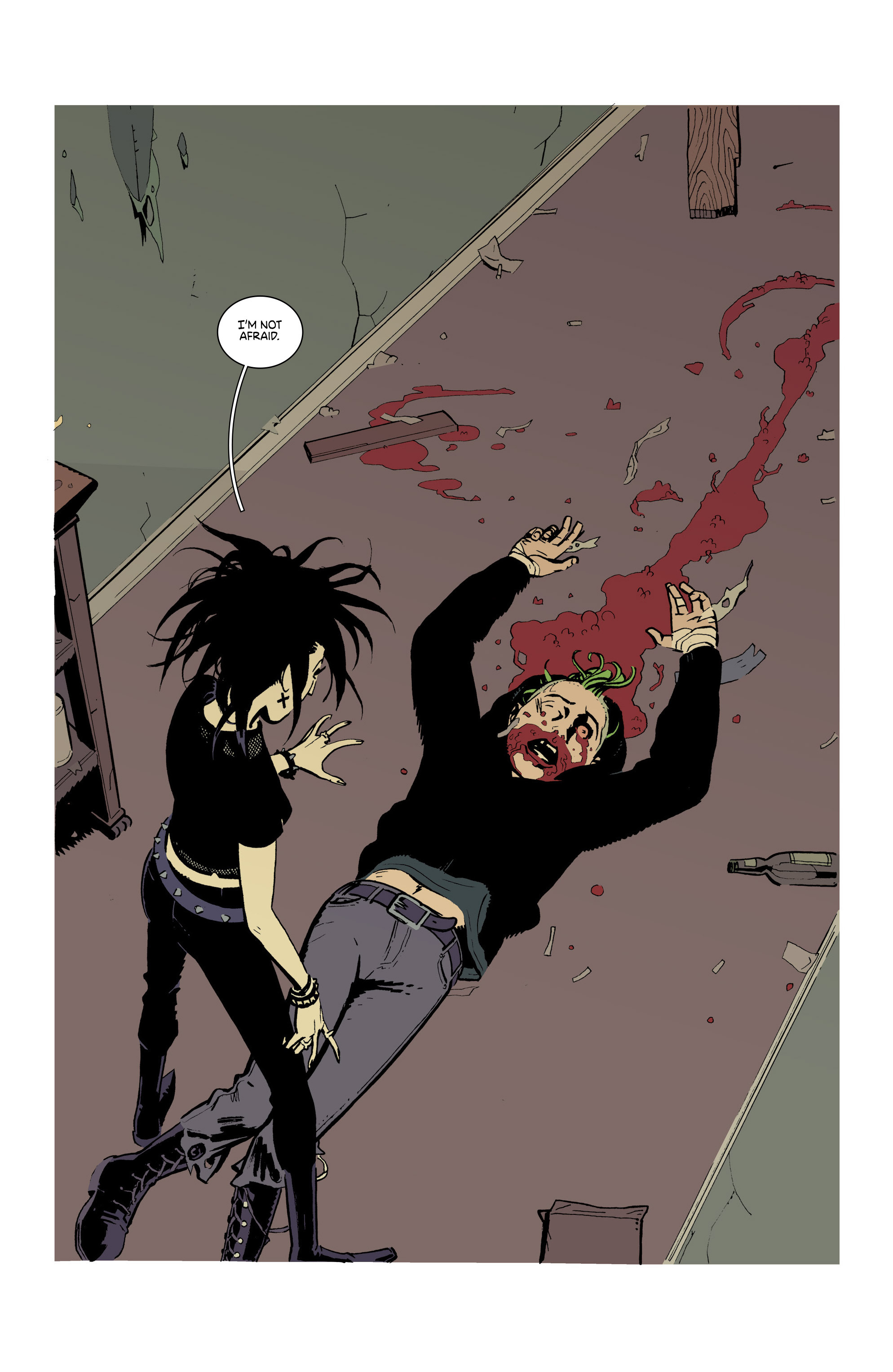 Read online Deadly Class comic -  Issue #21 - 22