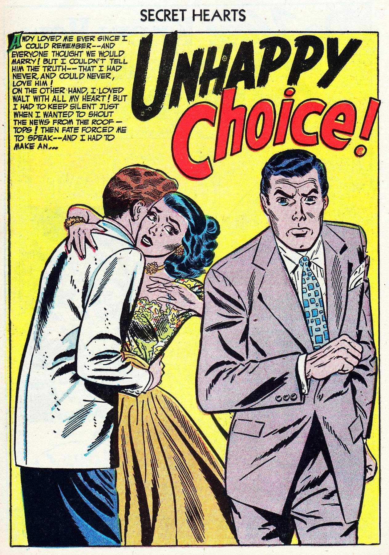 Read online Secret Hearts comic -  Issue #16 - 26