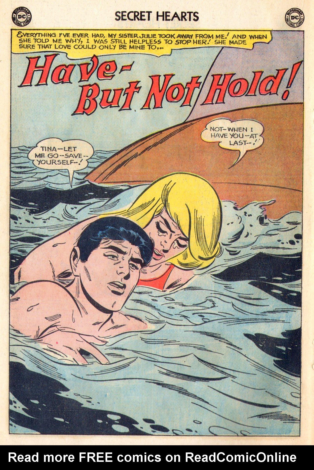 Read online Secret Hearts comic -  Issue #84 - 18