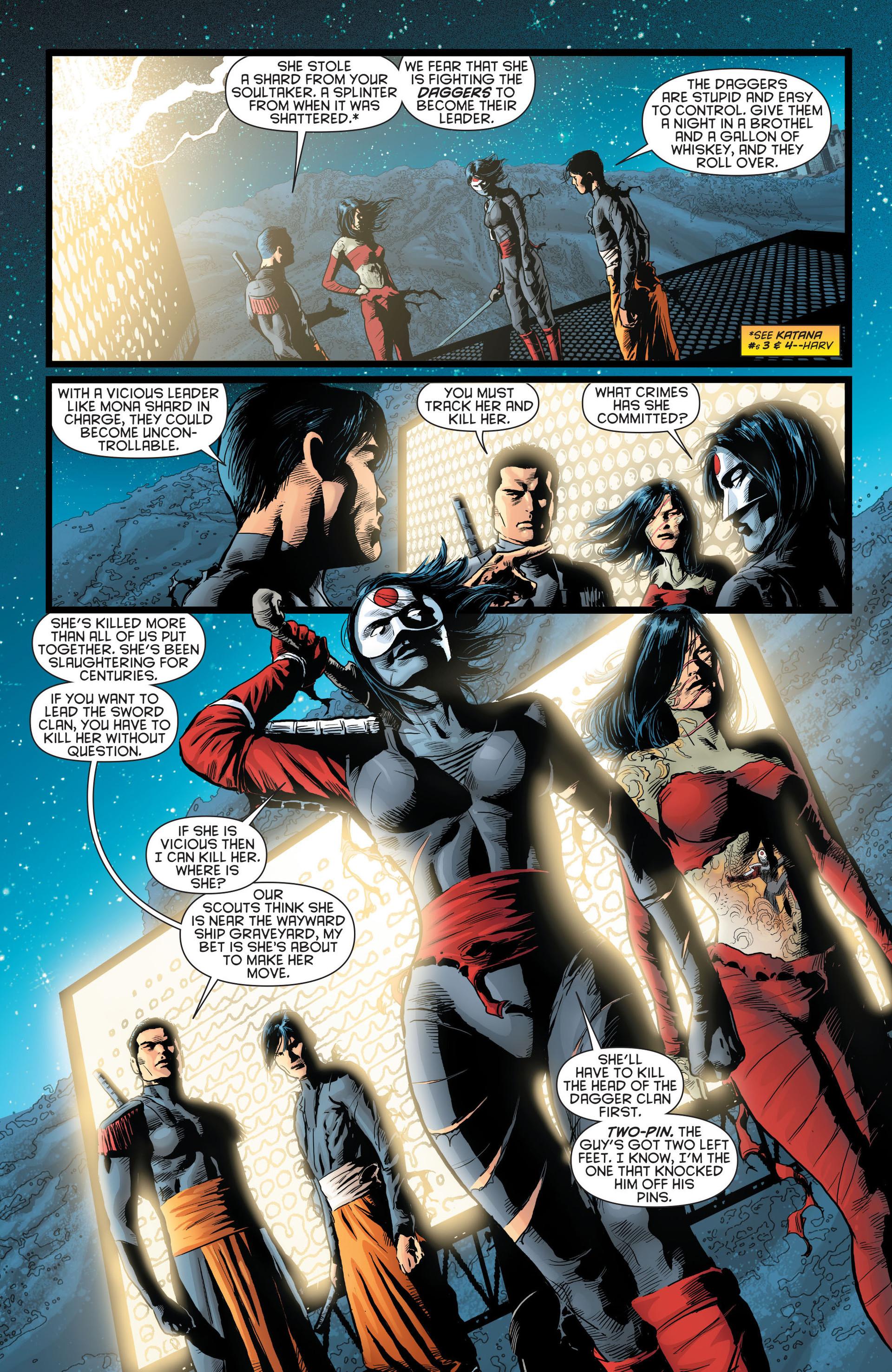 Read online Katana comic -  Issue #8 - 12