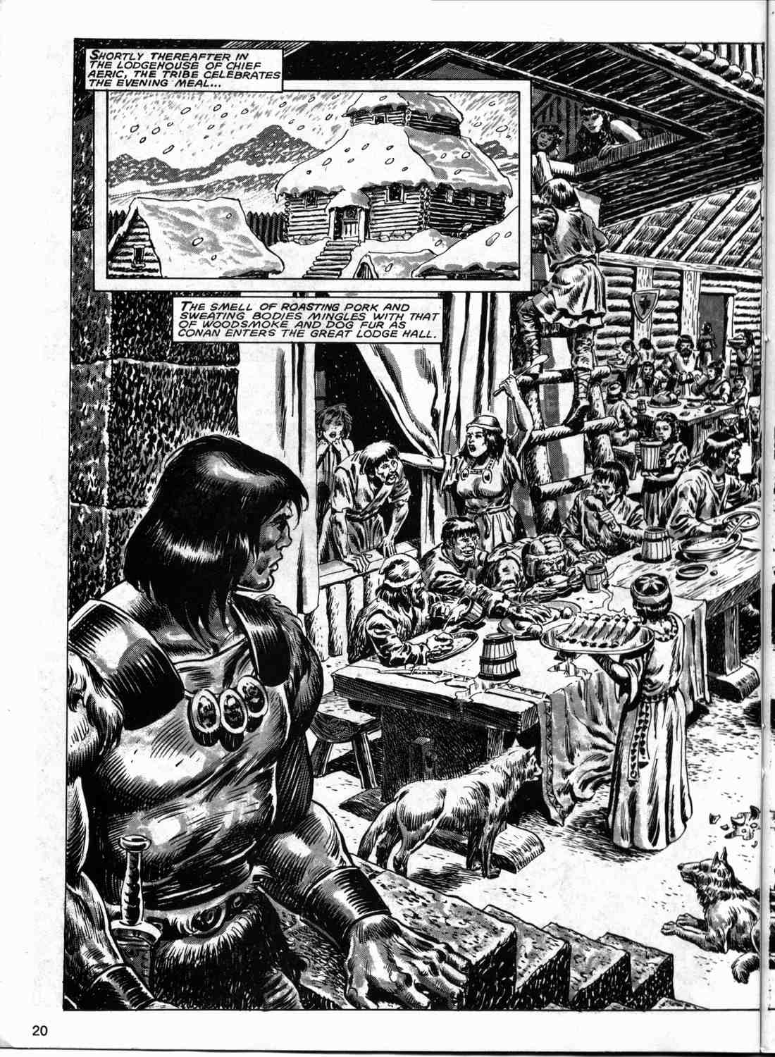 The Savage Sword Of Conan Issue #133 #134 - English 19