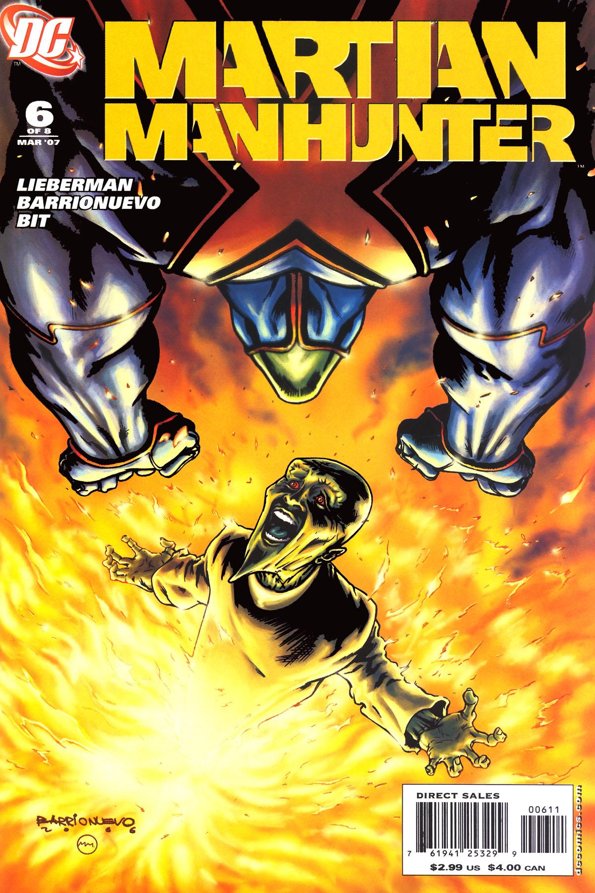 Read online Martian Manhunter (2006) comic -  Issue #6 - 1