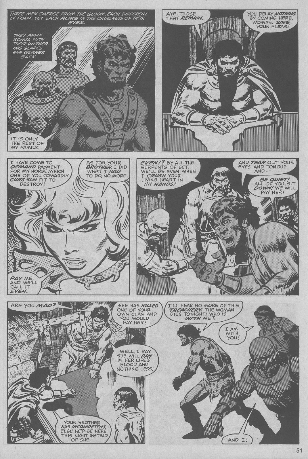 The Savage Sword Of Conan Issue #45 #46 - English 51