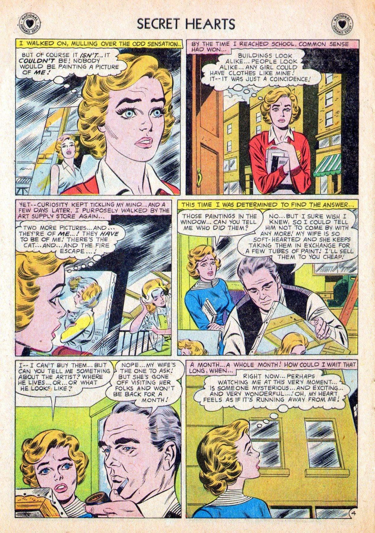 Read online Secret Hearts comic -  Issue #53 - 6