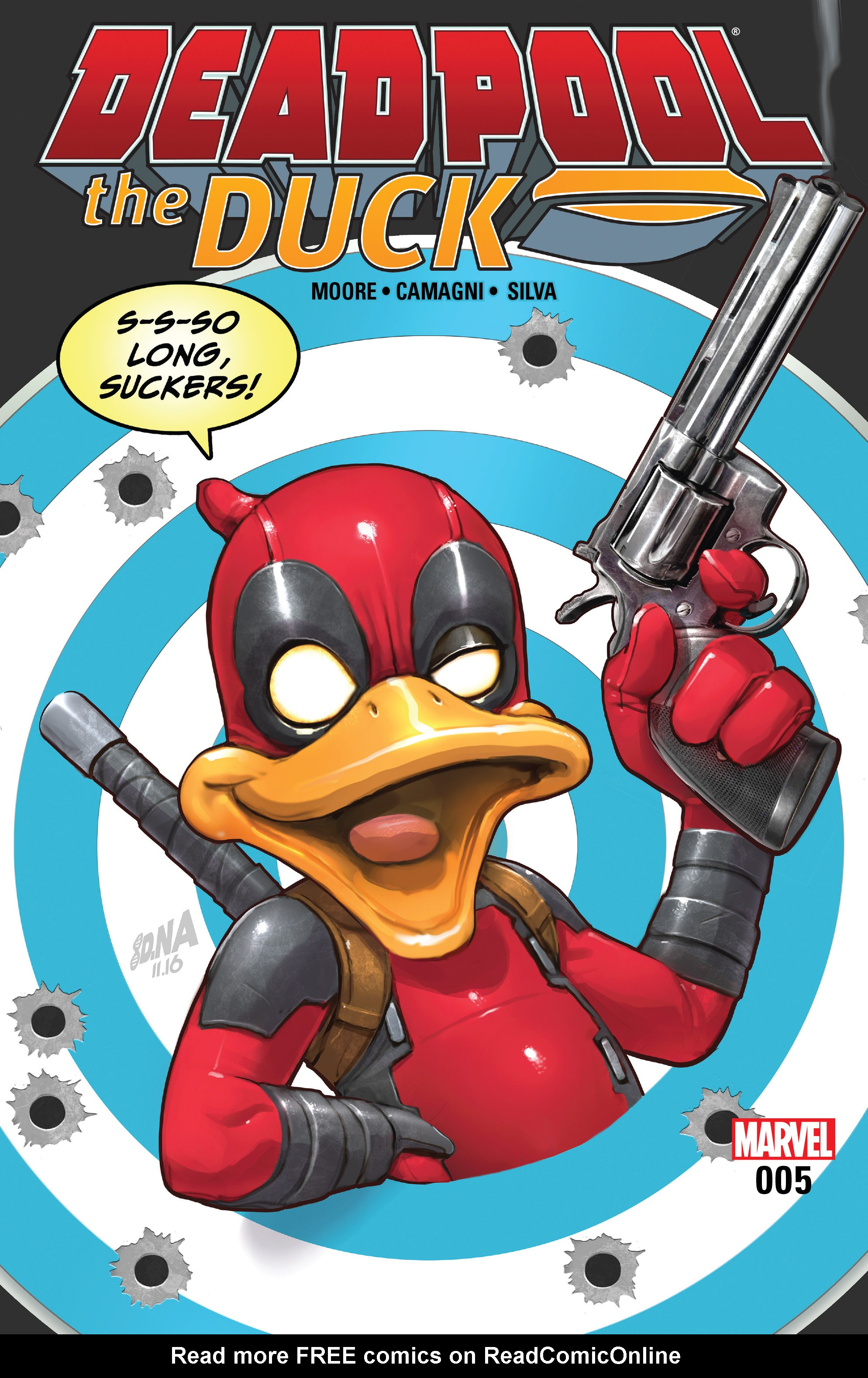 Read online Deadpool The Duck comic -  Issue #5 - 1