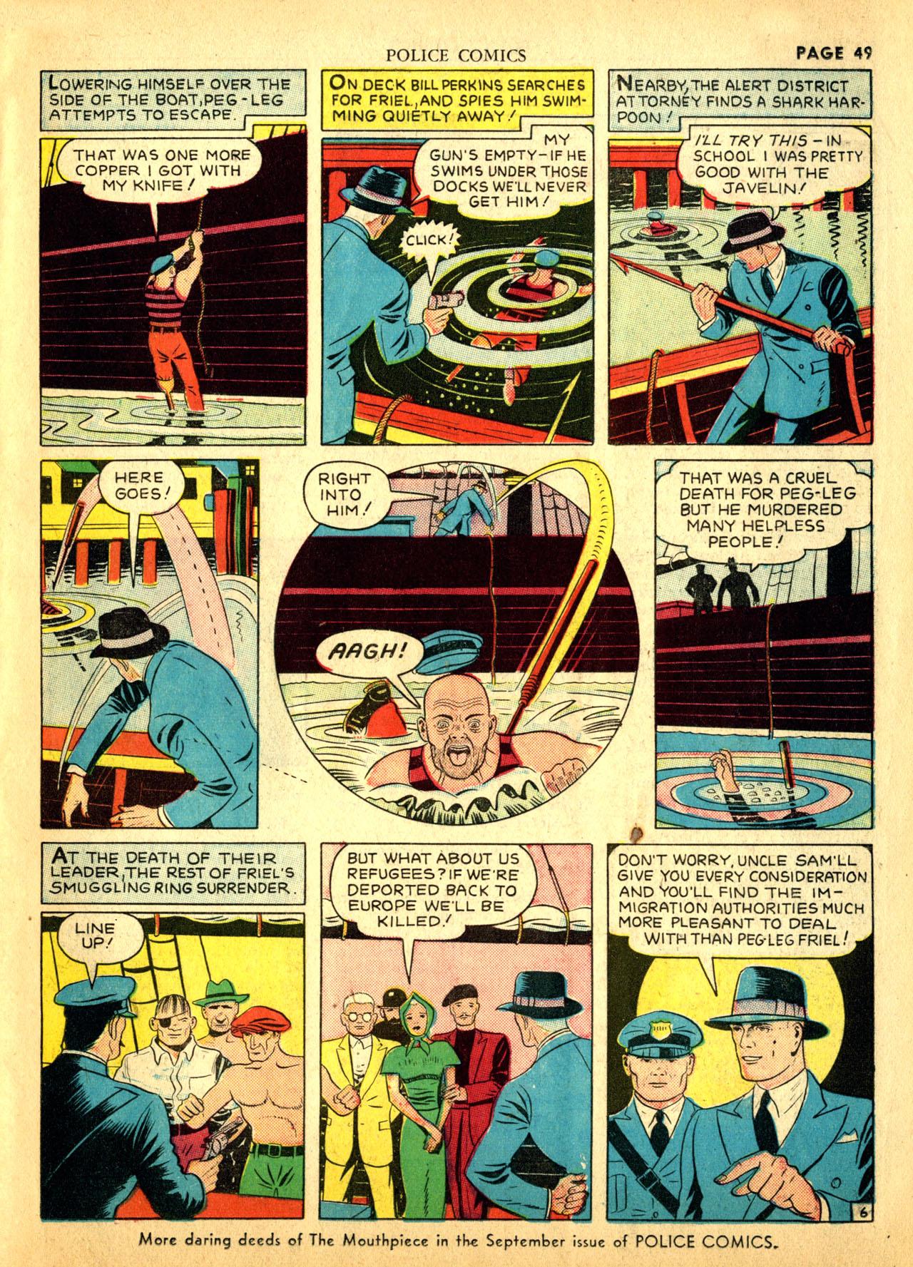 Police Comics #1 #127 - English 52