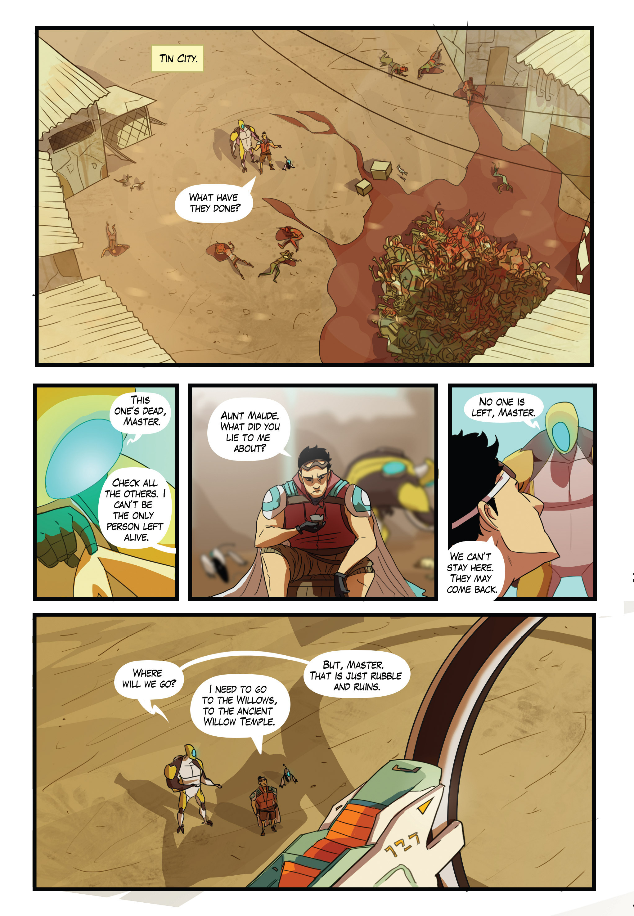 Read online Scavenger comic -  Issue #2 - 2