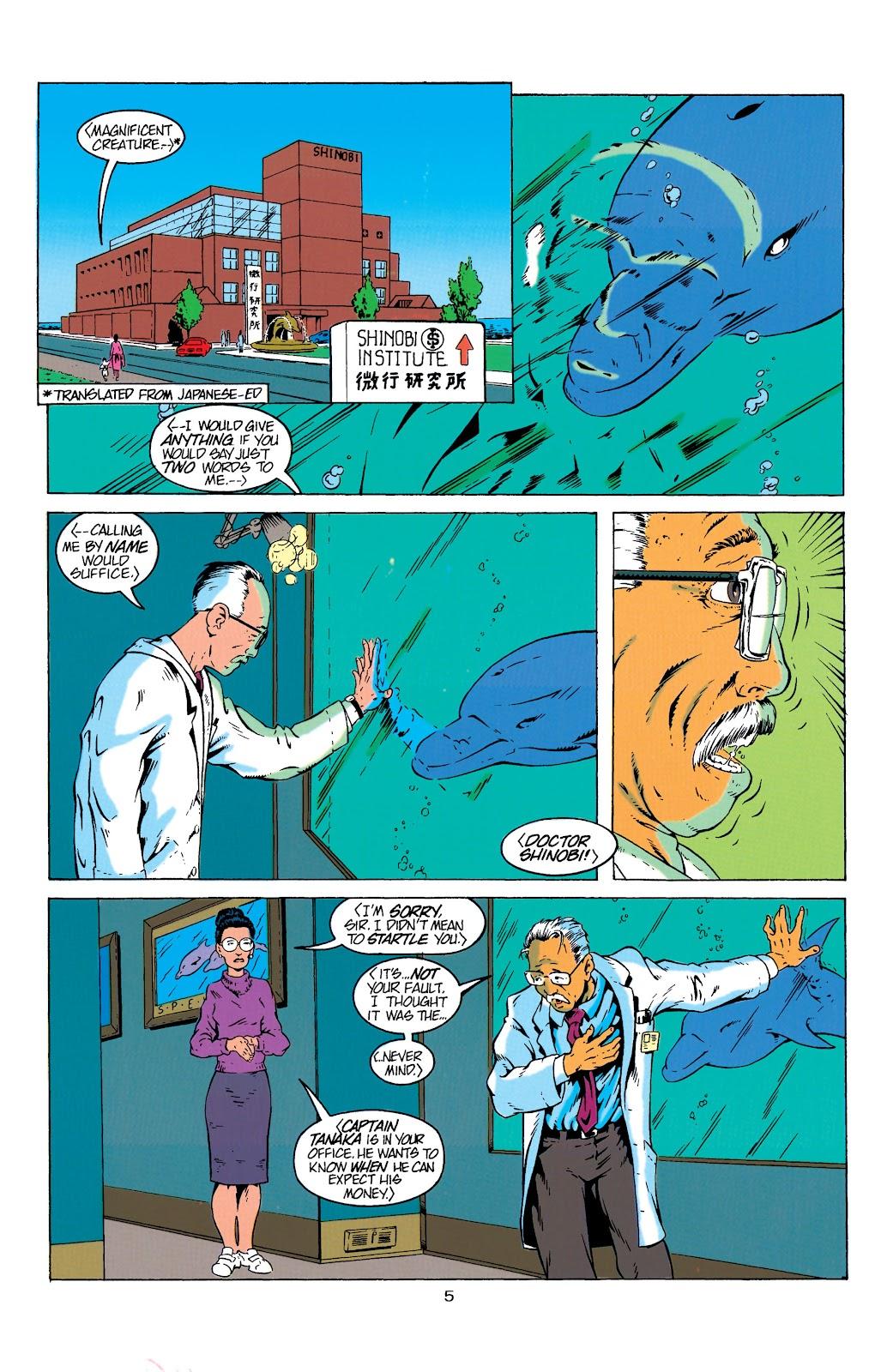 Aquaman (1994) Issue #4 #10 - English 6