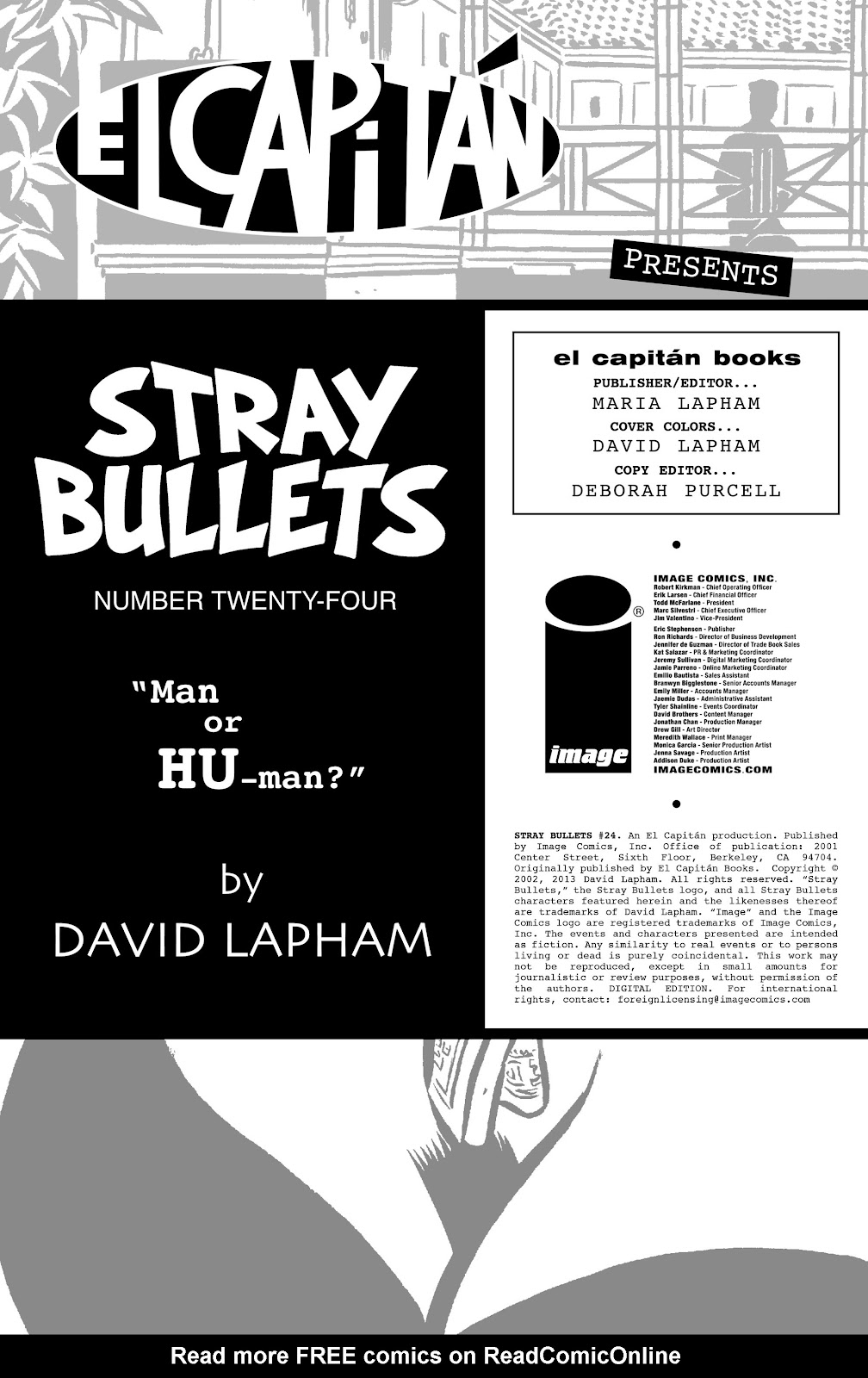 Stray Bullets Issue #24 #24 - English 2