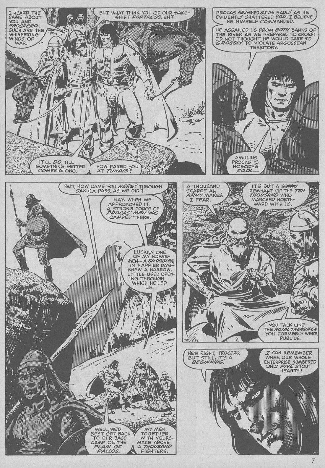 The Savage Sword Of Conan Issue #50 #51 - English 7