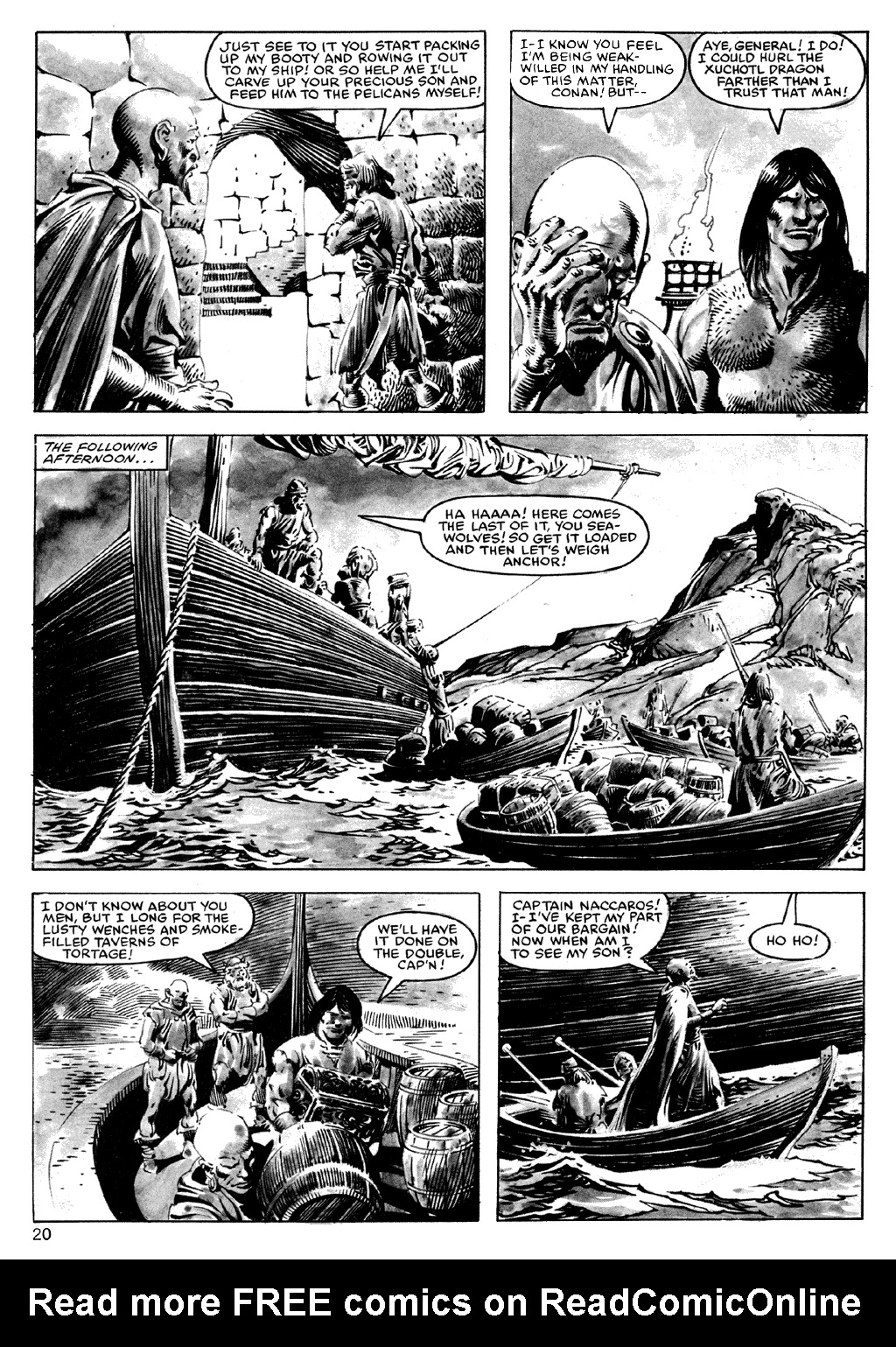 The Savage Sword Of Conan Issue #101 #102 - English 20