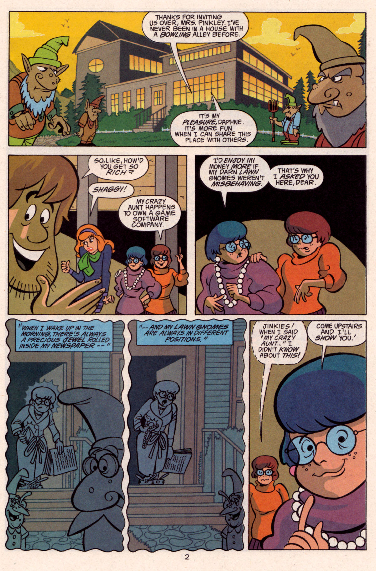 Read online Scooby-Doo (1997) comic -  Issue #12 - 17