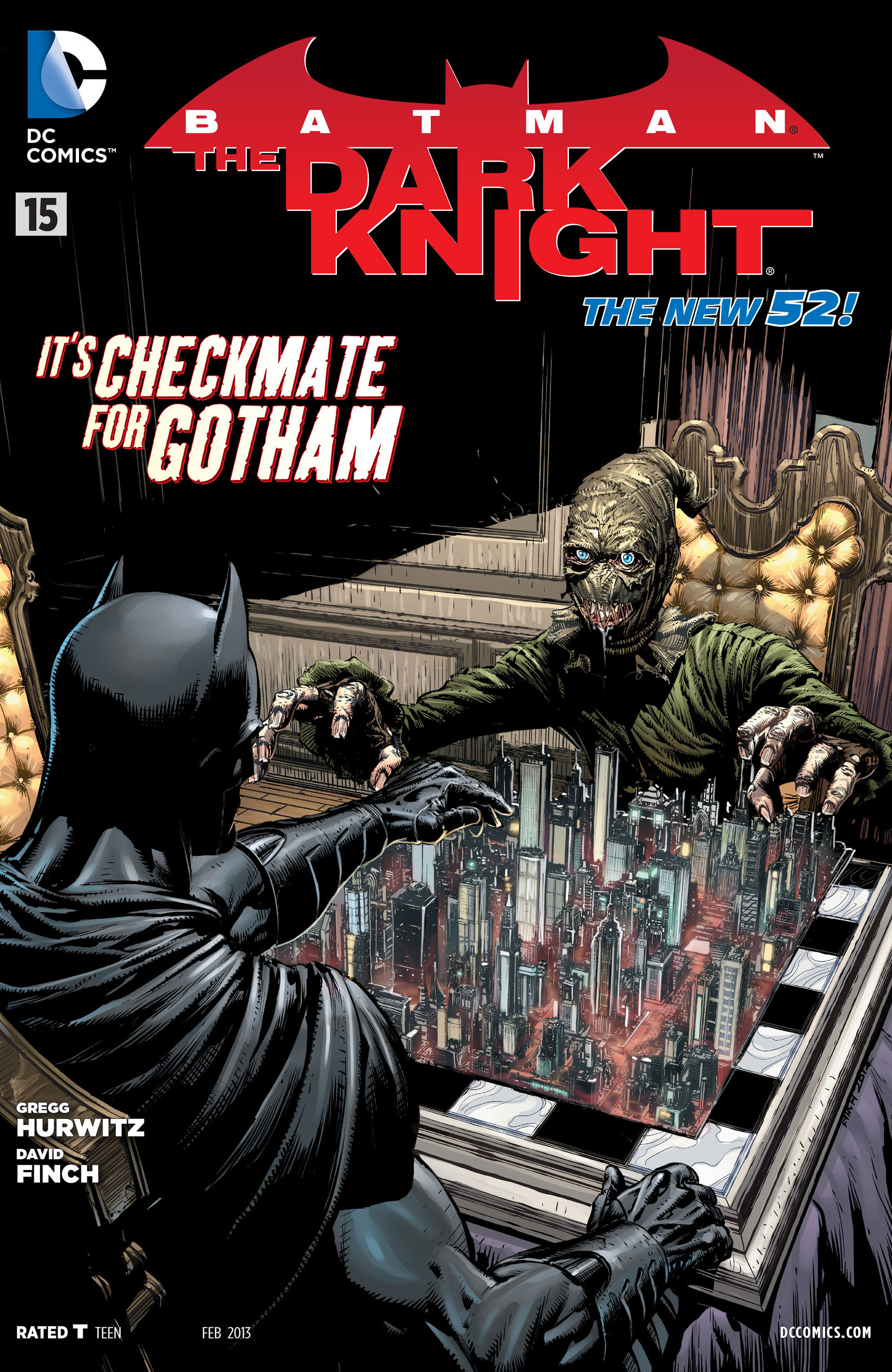Batman: The Dark Knight [II] (2011) issue 15 - Page 1