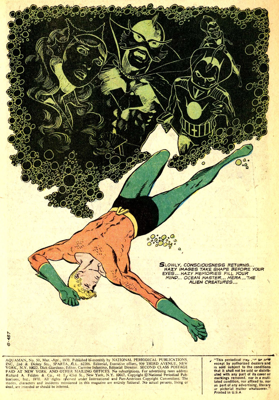 Aquaman (1962) Issue #50 #50 - English 3